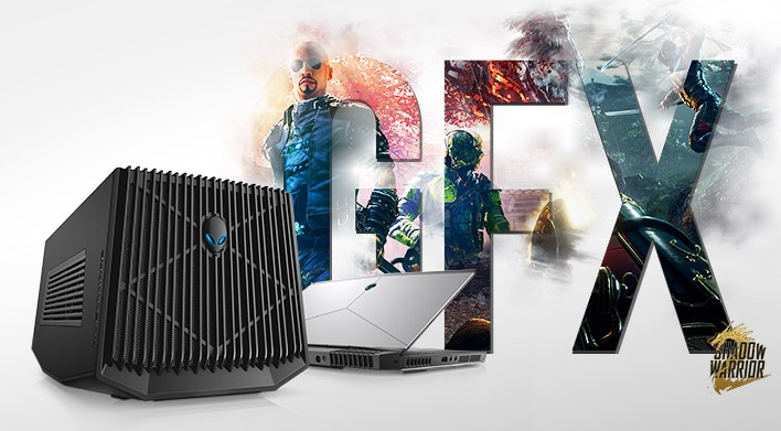 Alienware Graphics Amplifier - Let true power transform you