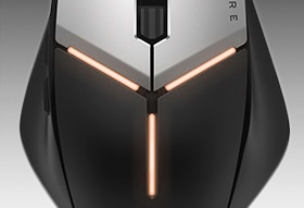 Alienware Elite Gaming Mouse : AW959 | AlienFX Lighting