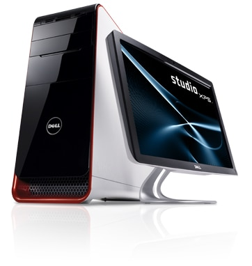 Dell Studio XPS 9000 Desktop Computer with monitor