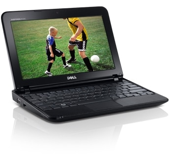 Dell Inspiron Mini 10 Netbook Computer - Entretainment on the go