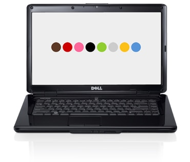 Dell Inspiron 15 laptop with facial recognition software