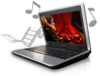 Dell Inspiron Mini 9 Netbook entertainment