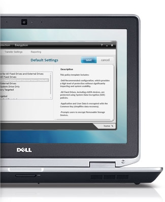 Ordinateur portable Dell Latitude E6320 : sécurité fiable