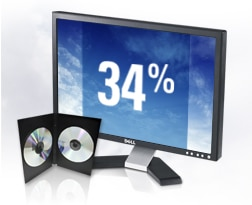 Dell e207WFP Flat Panel Monitor Widescreen Entertainment