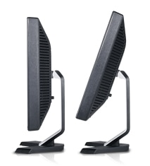 Dell e207WFP Flat Panel Monitor Style and Comfort