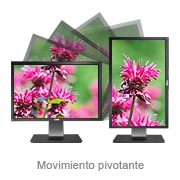 Monitores Dell UltraSharp: Giro