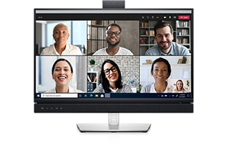 Dell 24 Video Conferencing Monitor: C2422HE | World-class video conferencing