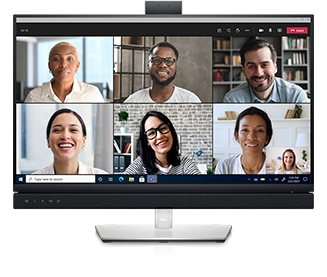 Dell 27 Video Conferencing Monitor: C2722DE | World-class video conferencing
