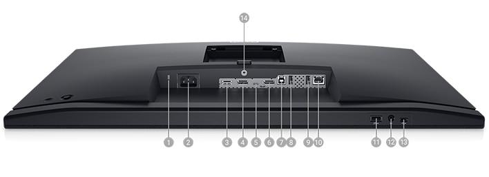 Dell 27 Video Conferencing Monitor: C2722DE | Connectivity Options