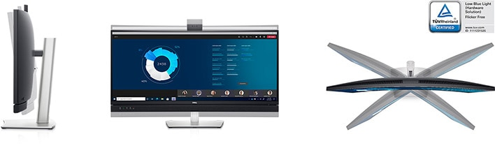 Dell 34 Curved Video Conferencing Monitor: C3422WE | Collaborate in comfort