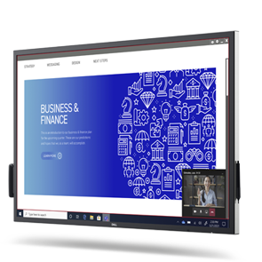 Dell 55 4K Interactive Touch Monitor: C5522QT | Surround yourself with real-time collaboration