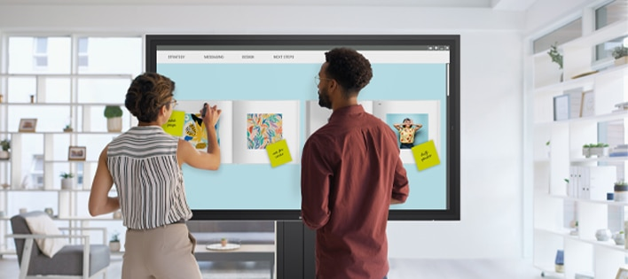 Dell 55 4K Interactive Touch Monitor: C5522QT | Brilliant presentations. In every sense of the word.