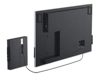 Dell 55 4K Interactive Touch Monitor: C5522QT | Convenient connectivity