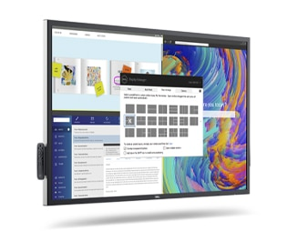 Dell 55 4K Interactive Touch Monitor: C5522QT | Dell Display Manager