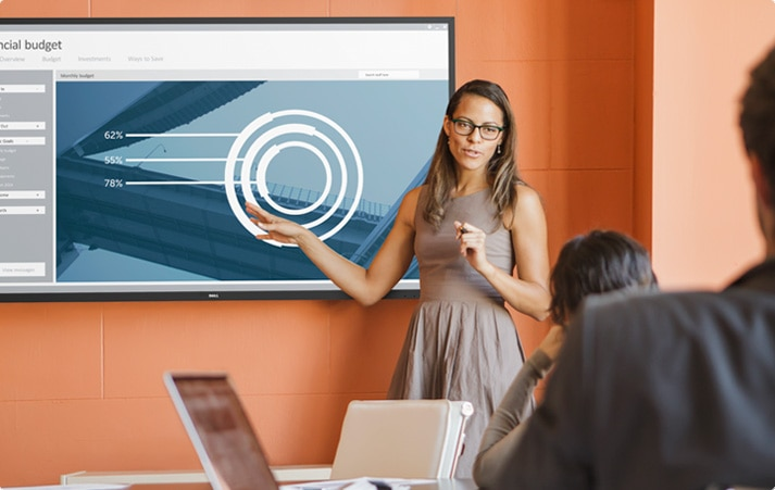 Dell 70 Conference Room Monitor - C7016H   Calibrated for productivity
