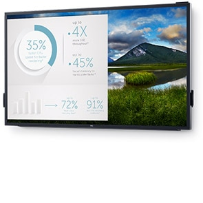 Écran 4K tactile interactif Dell 86: C8618QT