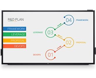 a3e8dbad4111 Dell 86 Monitor - C8618QT | Impressive visuals. Impactful presentations.