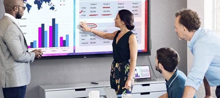 Interactive Touch Monitor: C8621QT | Vast visuals