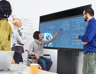 Interactive Touch Monitor: C8621QT | Engage and involve your audience