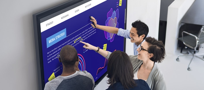 Interactive Touch Monitor: C8621QT | Real-time teamwork