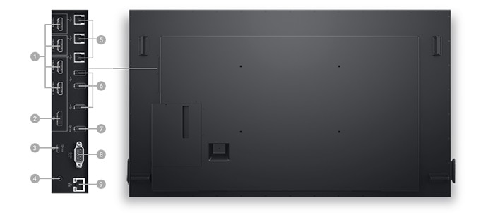 Interactive Touch Monitor: C8621QT | Connectivity Options