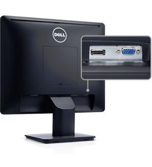 Bildskärmen Dell 17 - E1715S - Viktiga funktoner för dagliga uppgifter