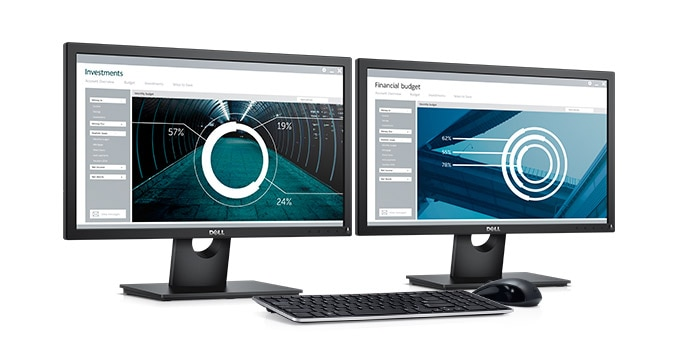 Dell 22 Monitor | E2216H - Everyday office essentials