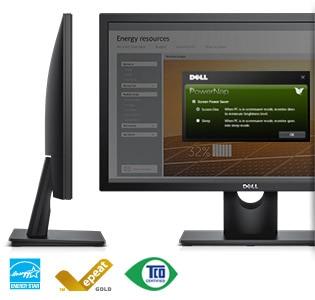 Monitor Dell23 | E2316H: diseño ecológico y confiable