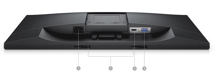 Dell 23 Monitor - E2318HN | Connectivity options.