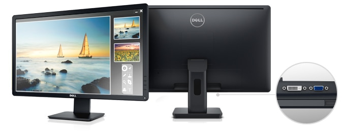 Dell 24 Monitor | E2414H - Brilliant clarity.
