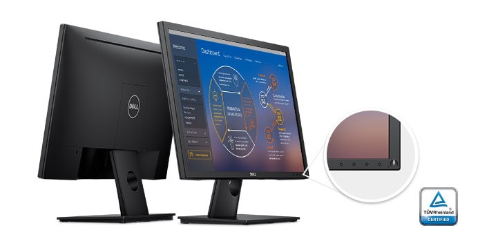 Dell 24 Monitor - E2417H | Superb usability