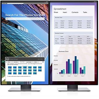 Dell 27 Monitor: U2719D | Maximize your productivity