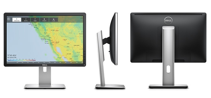 Dell 20 Monitor - P2016 - A bigger view, top-to-bottom