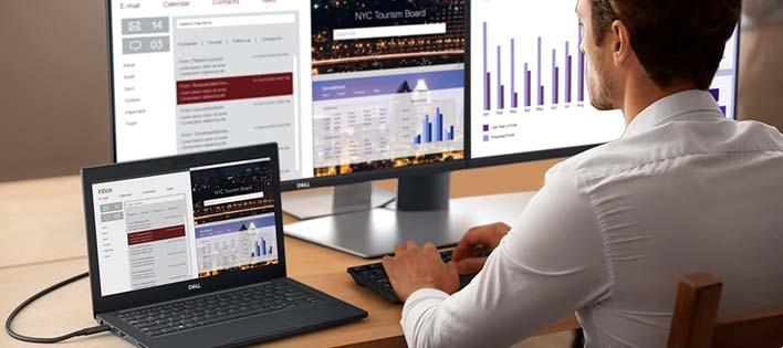Dell 22 USB-C Monitor: P2219HC |Ultimate connectivity