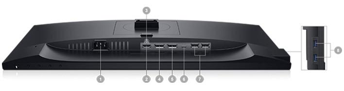 Dell 22 USB-C Monitor: P2219HC | Connectivity Options