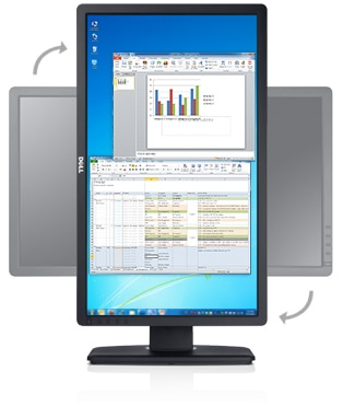 Dell Professional P2312H: Comfort and convenience go a long way