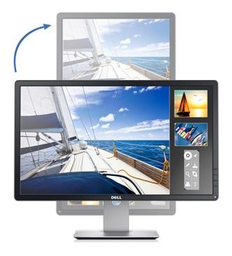 Dell 23 モニタ - P2314H  柔軟性に優れた表示機能