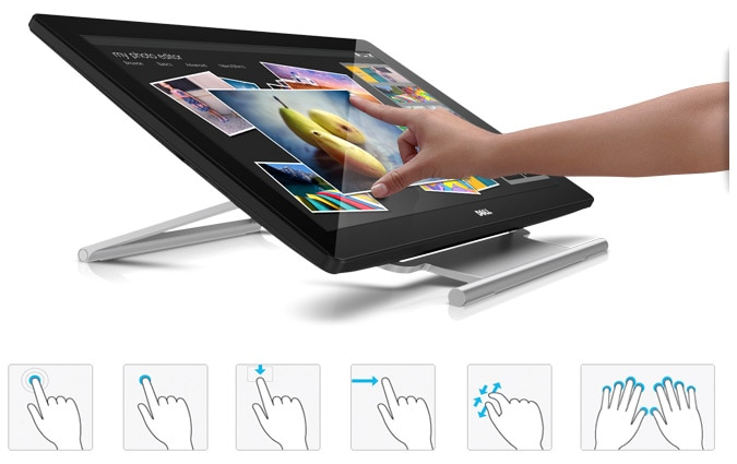 Dell 23 Monitor | P2314T - Engaging touch experience