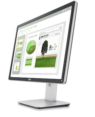 Monitor Dell 24, P2414H: nitidez de tela impressionante