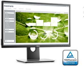 Monitor Dell24: P2417H | Experiencia de visualización mejorada