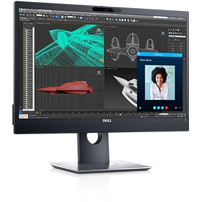Dell 24 Monitor for Video Conferencing - P2418HZ