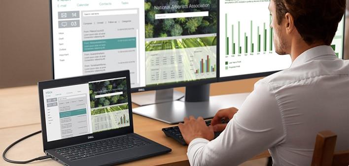 Dell 24 USB-C Monitor: P2419HC |Ultimate connectivity