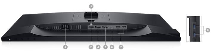 Dell 24 USB-C Monitor: P2419HC | Connectivity Options