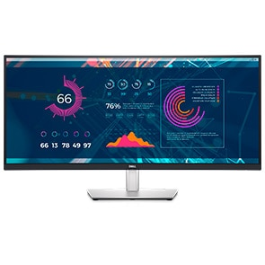 Dell 34-Inch Curved USB-C Monitor: P3421W | Productivity that pulls you in