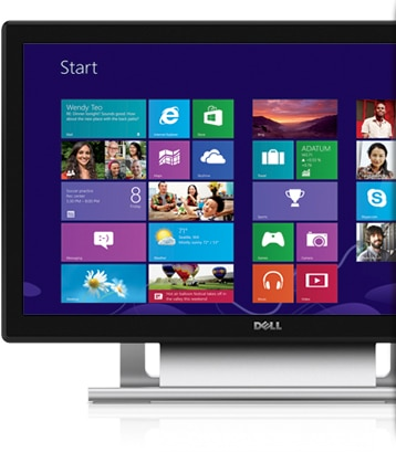 Dell 21.5'' Touch Monitor-Natural touch and superb image clarity.