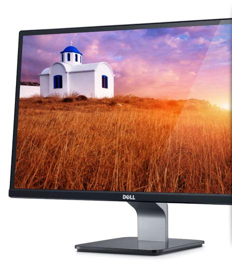 Dell S2340L Monitor - Go on a vivid adventure