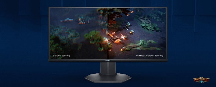 Dell 24 Gaming Monitor: S2421HGF   Speed with style