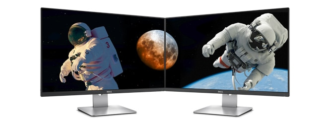 Monitor Dell 27 | S2715H: Multimedia mejorada