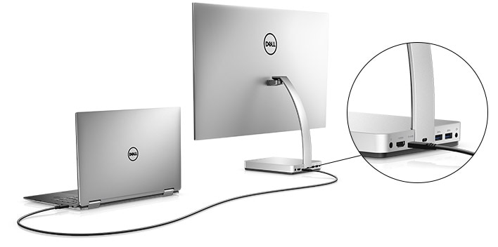 "Dell 27"" HDR Ultrathin Monitor with InfinityEdge - S2718D 