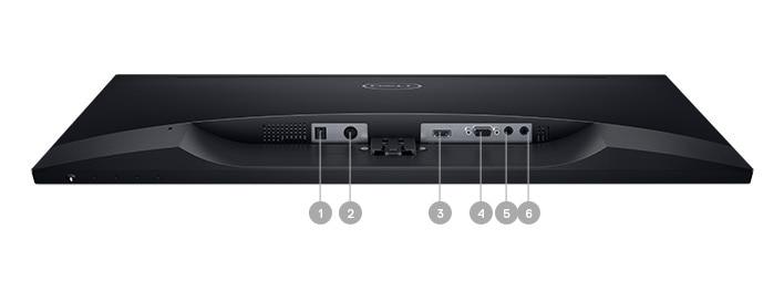 Monitor Dell27- S2718H | Opciones de conectividad